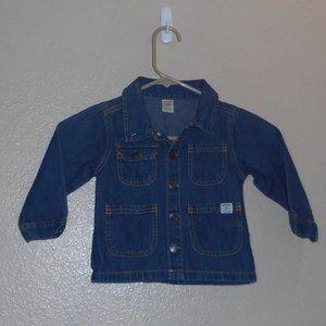 Carter's denim jacket 24 mo